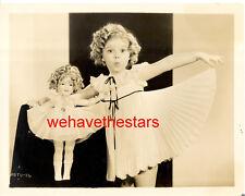 Vintage Shirley Temple & SHIRLEY TEMPLE DOLL 30s Publicity Portrait