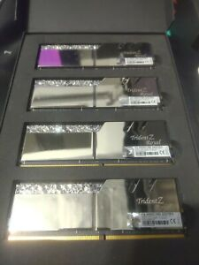G.SKILL Trident Z Royal Series 64GB (4 x 16GB) 288-Pin DDR4 SDRAM DDR4 3600