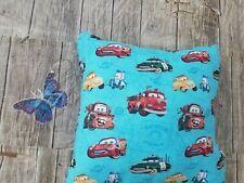 Disney Cars Multi Color Kids throw Pillow