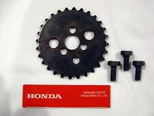 HONDA CT70 / CT70H OEM  28 Tooth Cam Sprocket With 3 Knock Bolts Kit  K0-78