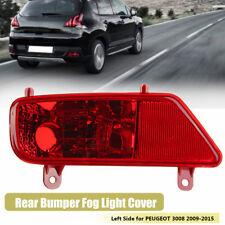 Rear Tail Fog Light Lamp Left Passenger Side N/S Red For PEUGEOT 3008 2009-2015