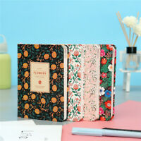 A5/A6 Flower Cute Sketchbook Notebook Papers School Journal Drawing Notepad PU