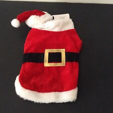 Dog - Or Cat 2 Piece Santa Suit - Small - New - Great For Pictures!