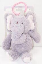 Elephant Plush W/ Rattle & Link Clip Toy - Soft Kelly Toys Stuffed Animal 2017