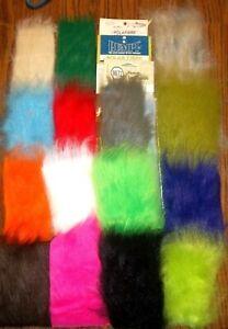 Craft Fur fly fur Polar fibre  Metz Rumpf polafibre  assorted colors