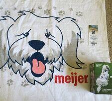 HANK The DOG MILWAUKEE BREWERS Bobble Head & Towel MLB Baseball SGA Vtg Lot
