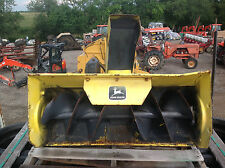 "John Deere Model 37A,  38"" Snow Blower - Used"
