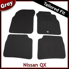 Nissan QX Tailored Fitted Carpet Car Mats GREY (1995 1996 1997 1998 1999 2000)