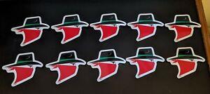 "Skoal Bandit Racing 8/"" oval stickers"
