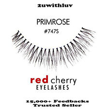 RED CHERRY 100% HUMAN HAIR FALSE EYE LASHES #747S BRAND NEW