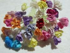 100 stems Miniature Paper Flowers MP3D10X Doll House Decoration Cards Scrapbooks