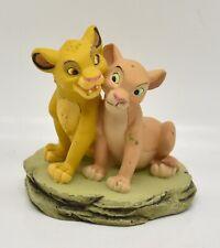 "Disney The Lion King Young Simba & Nala Loose 2.75"" Figure Enesco"