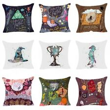 Cartoon Harry Potter Polyester Cushion Cover Sofa Throw Pillows Case Home Decor