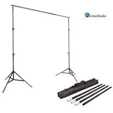 Limo Studio Photo Video Studio 10Ft Adjustable Muslin Background Backdrop Kit