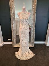 "Wedding Dress - Grace Loves Lace ""Nia"" Champagne/Ivory Size M"