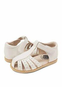NIB LIVIE & LUCA Shoes Sandals Paz White Pearl 11 12 13