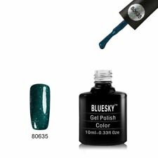 Bluesky UV LED Soak Off Nail Polish   80635 Emerald Lights 10ml