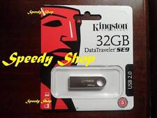 PENDRIVE USB 2.0 32GB CHIAVETTA PENNA 32 GB CHIAVE KINGSTON MEMORIA DTSE9H/32GB
