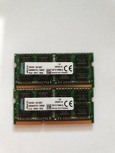Kingston PC3 16GB 2X8GB KVR16S11/8  1.5V Laptop  Ram Memory