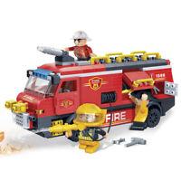 Squadra di salvataggio dei vigili del fuoco combinabili con i mattoncini  LEGO