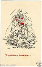 rare postcards cartoline bersaglieri gustavo fara genova cartolina postale nuova