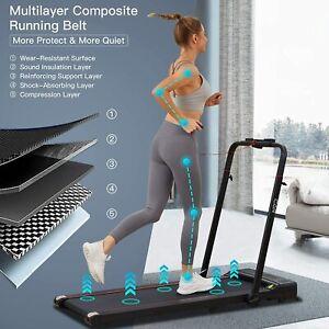 Laufbänder Klappbar Elektrisch 2-in-1 Laufband 12km/h m.Fernbedienung&Bluetooth