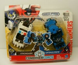 Transformers Combiner Force 2 pack LUNAR FORCE STRONGARM / OPTIMUS PRIME hasbro