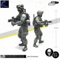 1/35 Skeleton Hunt Soldier Resin Kits Unpainted Figure GK YUFAN Model