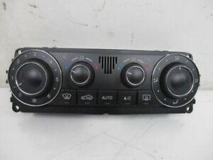 Operating Element Air Conditioning Control Unit Mercedes-Benz CLK (C209) 200