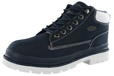 LUGZ MENS DRIFTER MID RIPSTOP NYLON UPPER LACE UP BOOTS