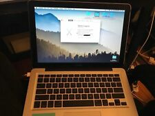 """Apple MacBook A1278 Late 2008 Aluminum 13.3"""" Laptop w/ installed 500GB HDD 4GB"""