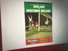 England v Northern Ireland 1979 in good condition