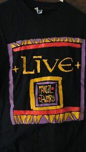 LIVE 1991 Mental Jewelry vintage licensed concert tour shirt XL