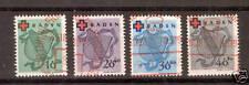 Echte Briefmarken aus der französischen Zone (ab 1945) mit Sonderstempel