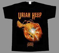 URIAH HEEP RETURN TO FANTASY'75 NAZARETH NEW SHORT/LONG SLEEVE T-SHIRT