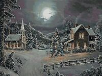CHRISTMAS VILLAGE # 1 - CROSS STITCH CHART