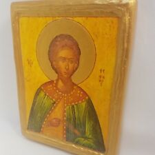 Saint Stephen San Esteban Stefan Stefano Byzantine Greek Orthodox Rare Icon Art