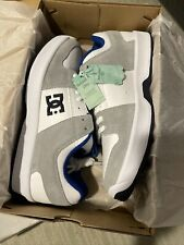 Dc Shoes Lynx Zero white blue grey mens skate shoes size 10