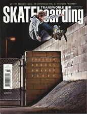 Silas Baxter-Neal Transworld Skateboarding Magazine Mar 2014 Awards Chase Webb