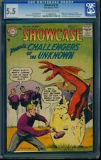 Showcase 6 CGC 5.5 OW/W DC Silver Age Key Comic 1st Challengers! RARE! L@@K!
