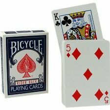 Bicycle RISING Card Deck magic Trick playing gaff 808 US blue red RIDER