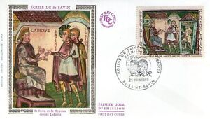 FDC - FRANCE 1588 - EGLISE DE ST SAVIN