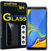 """Lot/ Pack Film Verre Trempe Protecteur Écran Samsung Galaxy A7 (2018) 6.0"""" A750F"""