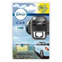 Febreze Open Sky Scented Car Air Freshener Vent Clip-On 70-Day Starter Kit - 7ml