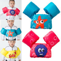Baby Swim Toddler Float Jumper Swimming Deluxe Cartoon Life Jacket Safety Vest