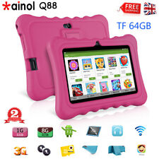 Ainol Q88 Android 7.1 Tablet PC WiFi 1G RAM 8 GB ROM WIFI For Kids Children Pink