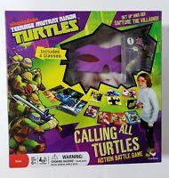 Teenage Mutant Ninja Turtles Calling All Turtles Battle Game Tmnt Sealed...