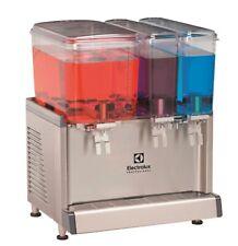 More details for electrolux cold beverage dispensers 2x9.1l, 1x18 l, agitator model 600728