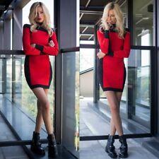 Balmain X H&M Mini Dress Black Red UK16 US12 EUR42 Uk14