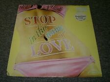 Donnie Elbert~Stop In The Name of Love~PROMO~1974 Trip Records TLP-9524